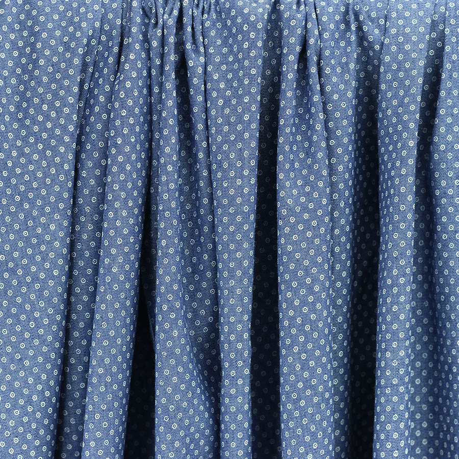 "Tissus Chambray Les Tours chambray ""pois"""