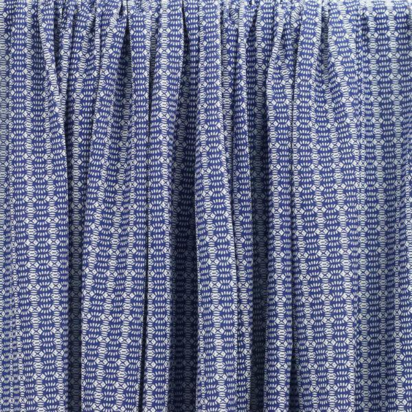 Tissu jersey coton joy bleu © Eyrelles tissus