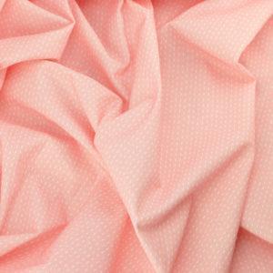 Tissu coton imprimé Sylvanie rose © Eyrelles Tissus