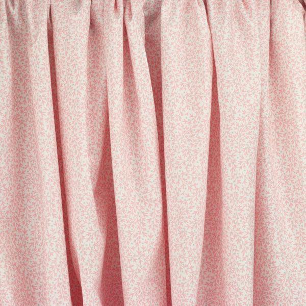 Tissu coton imprimé Paradis rose © Eyrelles Tissus