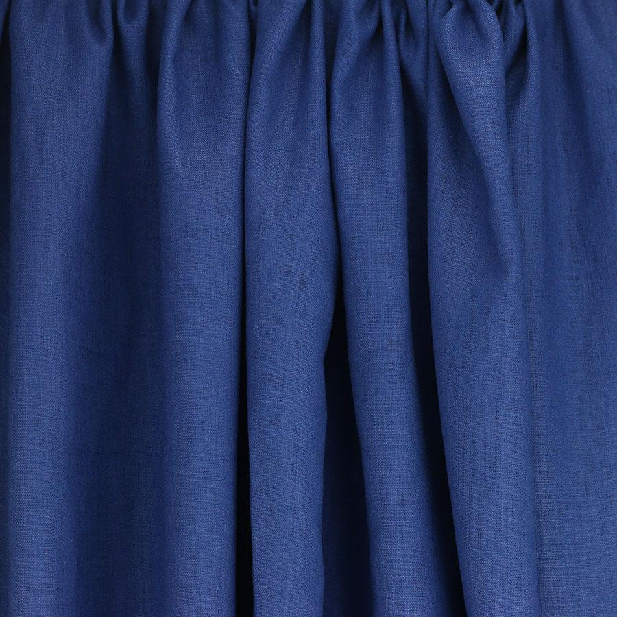 tissus Lin léane bleu roi © Eyrelles Tissus