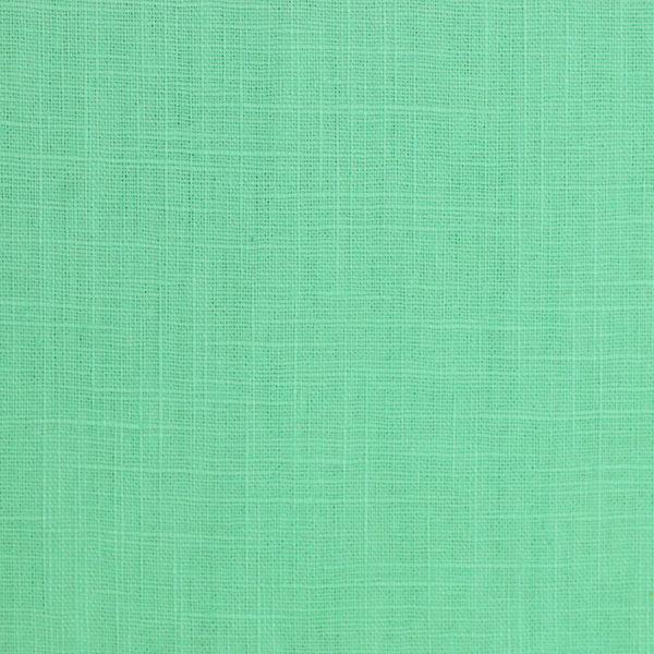 tissus Lin léane vert menthe © Eyrelles Tissus