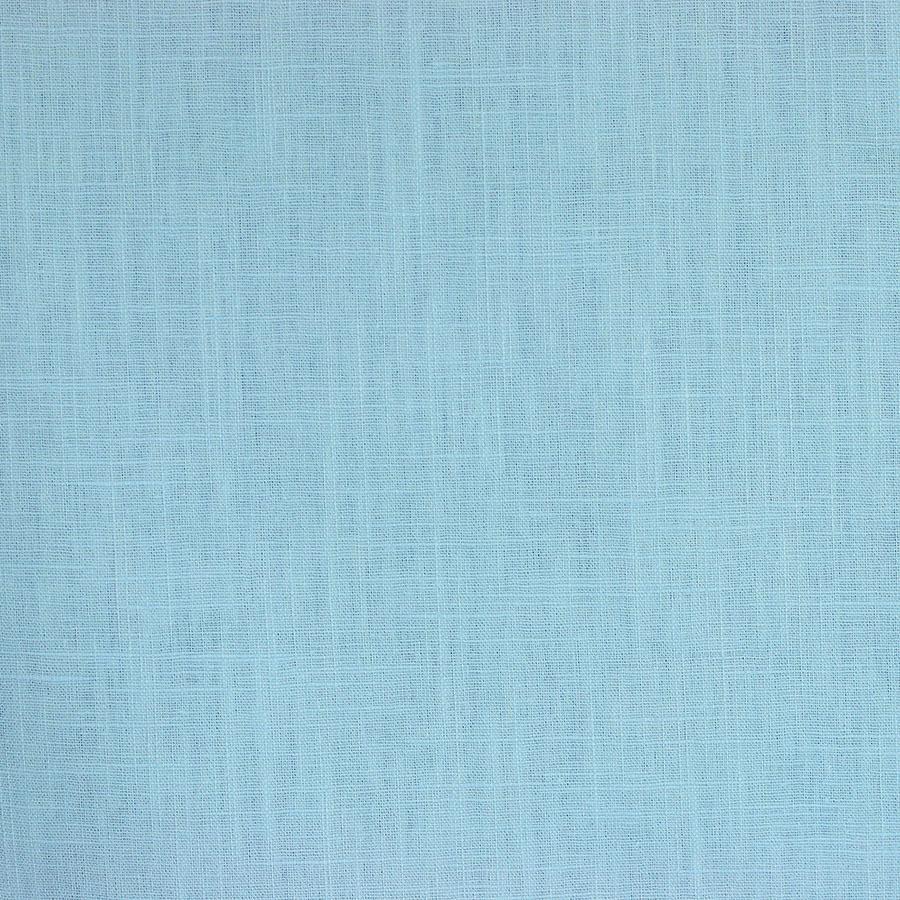 tissus Lin léane bleu ciel © Eyrelles Tissus