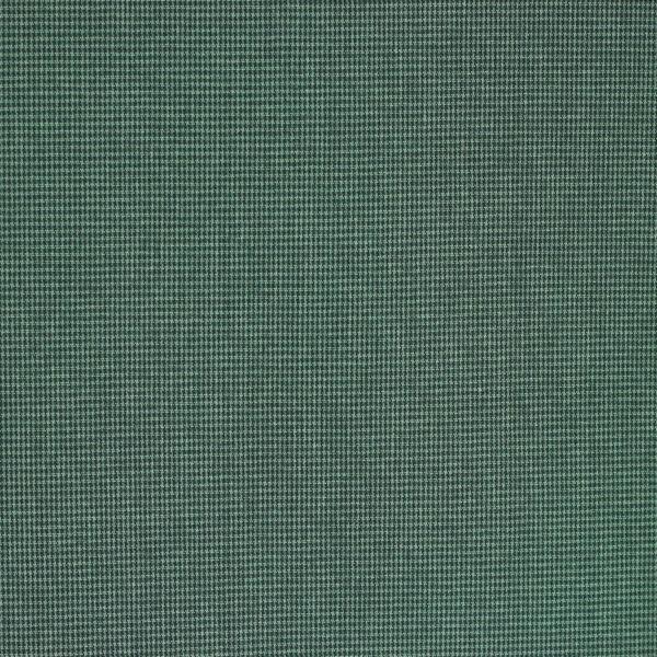 Tissus Pied de Poule Auguste vert © Eyrelles Tissus