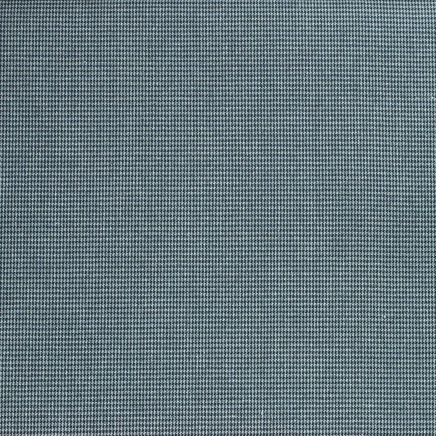 Tissu Pied de Poule Auguste bleu © Eyrelles Tissus