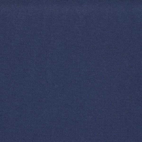 Tissus Tencel Edward Bleu Marine © Eyrelles Tissus