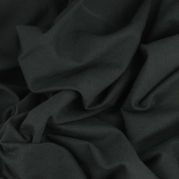 tissus Sweat brossé molleton léon Noir © Eyrelles Tissus