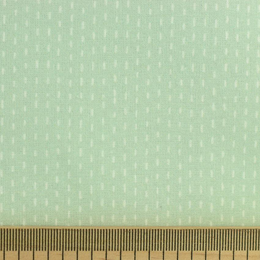 Tissu coton imprimé Sylvanie vert © Eyrelles Tissus