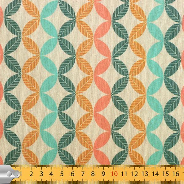 "Tissus Toile enduite polycoton ""Scandi"" l © Eyrelles tissus"