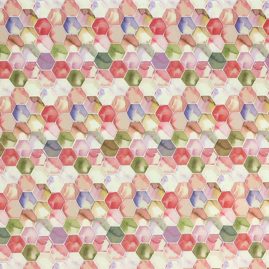 """Tissus Toile enduite polycoton """"Pompéi"""" l © Eyrelles tissus"""