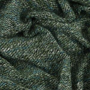 """Tissus Lainage Italien """"Maille - Vert"""" lurex © Eyrelles Tissus"""
