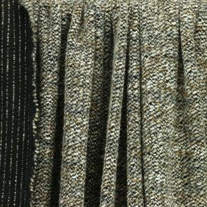 """Tissus Lainage Italien """"Maille - Beige"""" lurex © Eyrelles Tissus"""