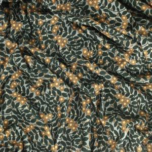 "Jersey de viscose Italien tissus ""Adèle - Ocre"" © Eyrelles Tissus"