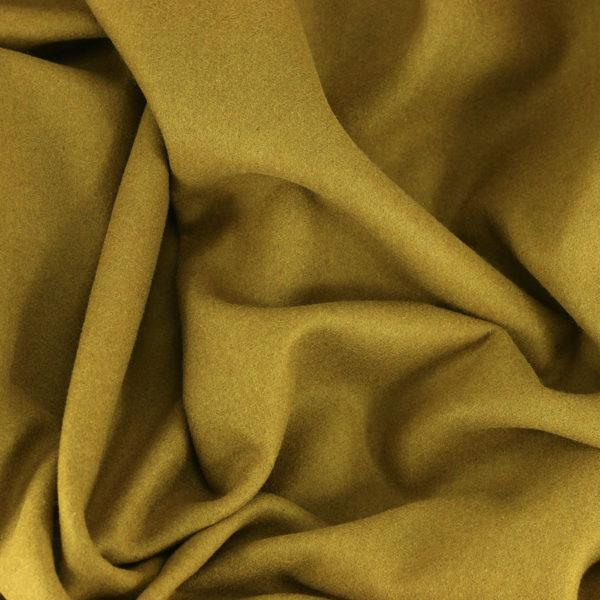 Drap de laine tissus diane Camel © Eyrelles tissus