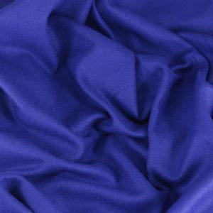 Drap de laine tissus diane Bleu Cobalt © Eyrelles tissus