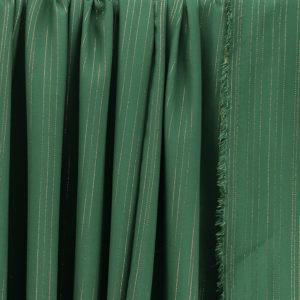 """Tissu Viscose Lurex """"Jane - Vert Sapin"""" © Eyrelles Tissus"""