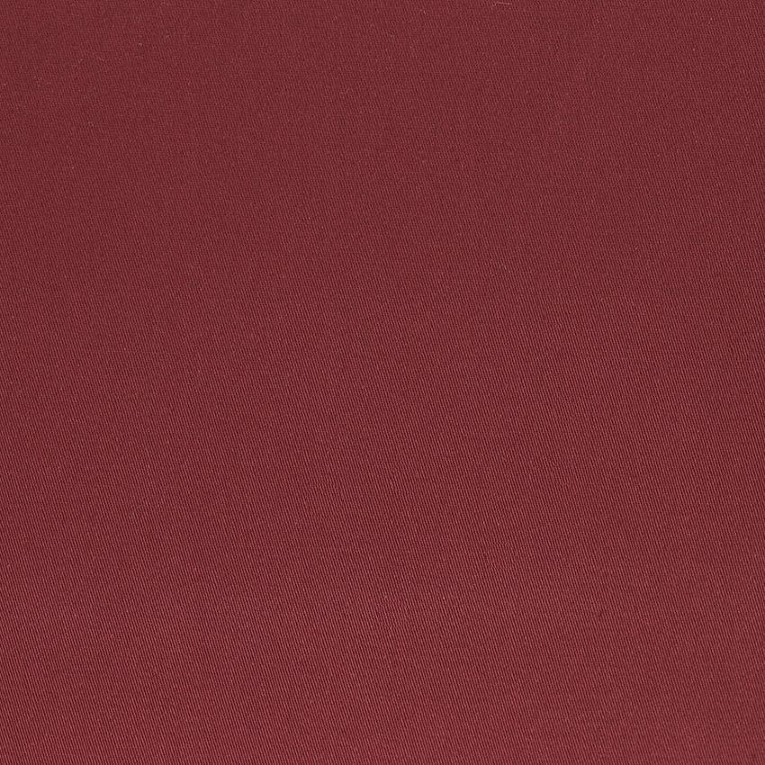 """Tissus Denim """"Chino - Bordeaux"""" © Eyrelles Tissus"""