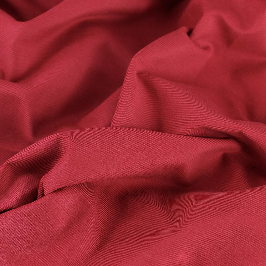 """Tissus Velours Milleraies """"Rouge - Bordeaux"""" © Eyrelles Tissus"""