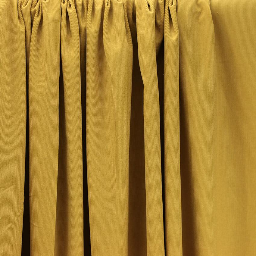 "Tissus Velours Milleraies ""Ambre - Beige"" © Eyrelles Tissus"