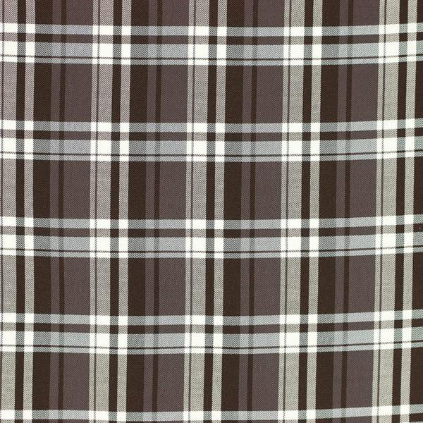 Tartan Dundee écossais marron © Eyrelles Tissus