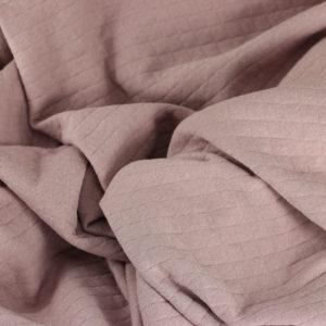 "Tissus Molleton ""Osange - Rose pâle"" © Eyrelles Tissus"