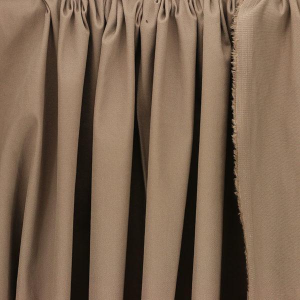 """Tissus Denim """"Chino - Taupe"""" © Eyrelles Tissus"""