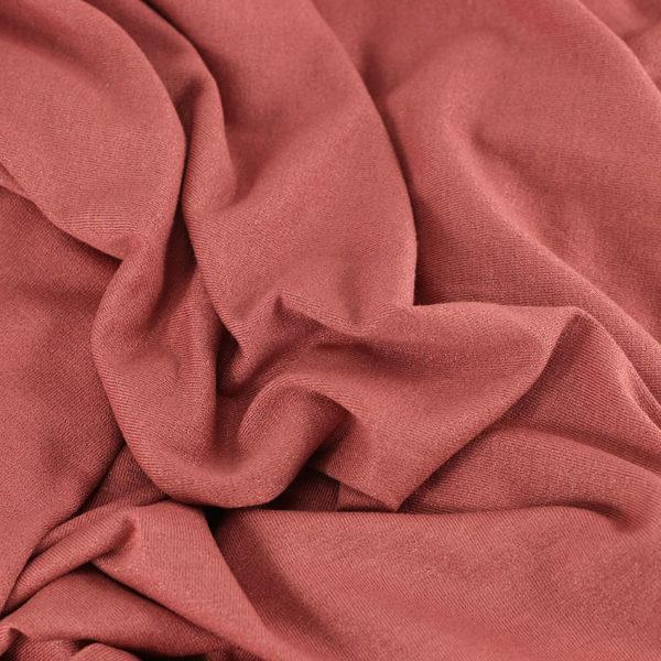 """Tissu Jersey Brillant """"Bright - Rose Ballet"""" © Eyrelles Tissus"""