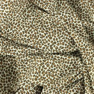 Tissu coton imprimé popeline Félin © Eyrelles Tissus