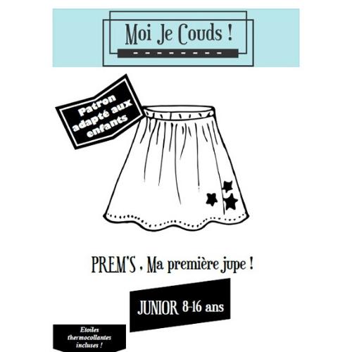 """Jupe """"Prem's"""" Patrons Moi Je Couds © Eyrelles Tissus"""