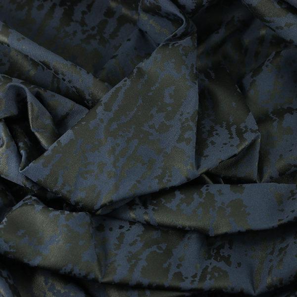 "Tissus Scuba ""Texture - Bleu Marine"" © Eyrelles Tissus"