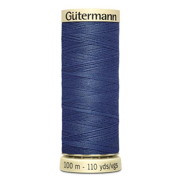 Fils Gütermann 100m couleur Bleu : 112 © Eyrelles Tissus