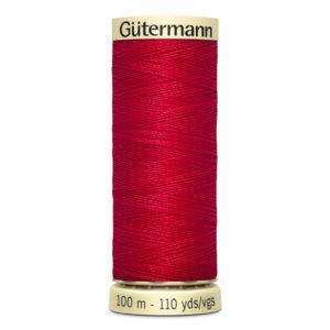 Fils Gütermann 100m couleur Rouge : 156 © Eyrelles Tissus