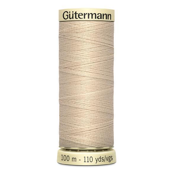 Fils Gütermann 100m couleur Beige : 169 © Eyrelles Tissus