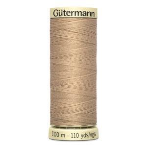 Fils Gütermann 100m couleur Beige : 186 © Eyrelles Tissus