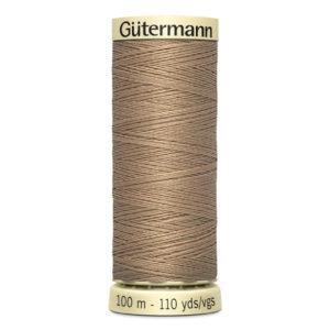 Fils Gütermann 100m couleur Beige : 215 © Eyrelles Tissus
