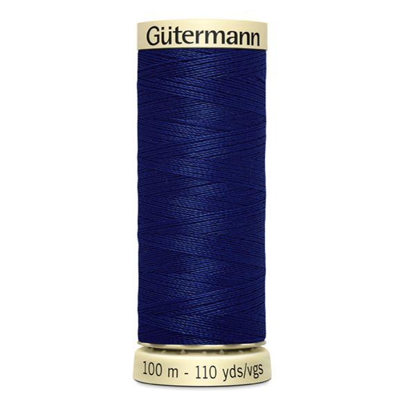 Fils Gütermann 100m couleur Bleu : 232 © Eyrelles Tissus