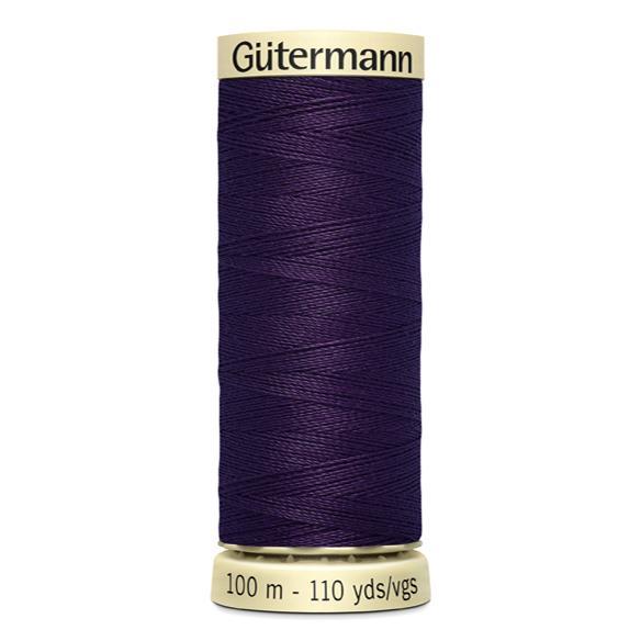 Fils Gütermann 100m couleur Violet : 257 © Eyrelles Tissus