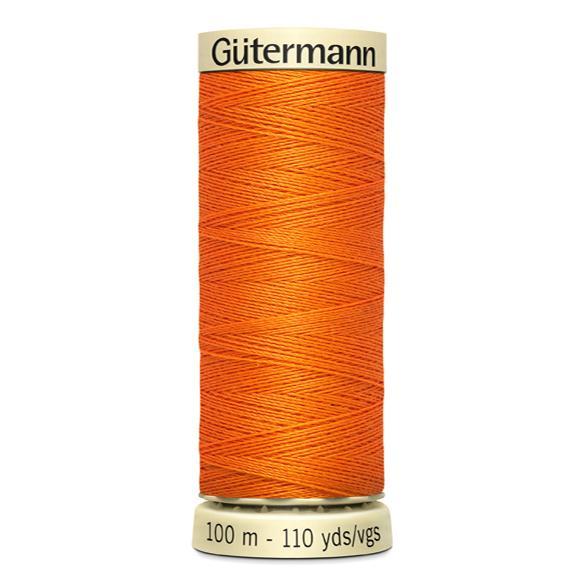 Fils Gütermann 100m couleur Orange : 350 © Eyrelles Tissus