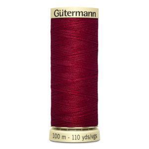 Fils Gütermann 100m couleur Rouge : 384 © Eyrelles Tissus