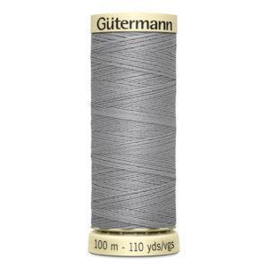 Fils Gütermann 100m couleur Gris : 38 © Eyrelles Tissus