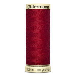 Fils Gütermann 100m couleur Rouge : 46 © Eyrelles Tissus