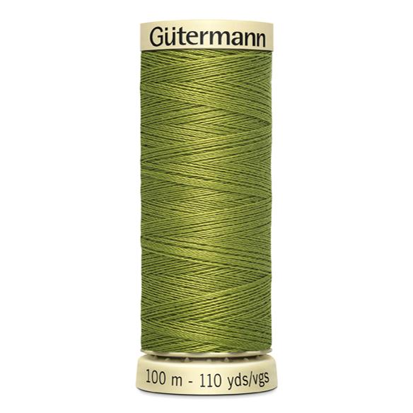 Fils Gütermann 100m couleur Vert : 582 © Eyrelles Tissus