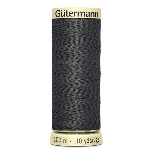 Fils Gütermann 100m couleur Gris : 702 © Eyrelles Tissus