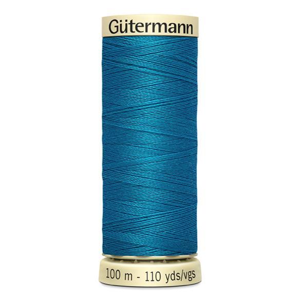 Fils Gütermann 100m couleur Bleu : 761 © Eyrelles Tissus