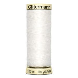 Fils Gütermann 100m couleur Blanc : 800 © Eyrelles Tissus