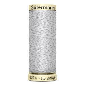 Fils Gütermann 100m couleur gris : 8 © Eyrelles Tissus