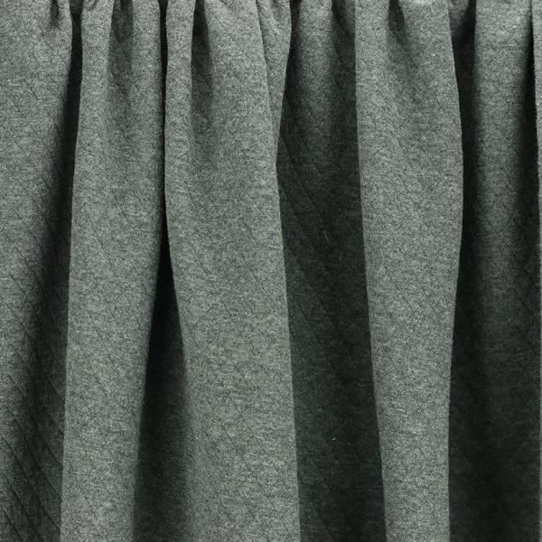 "Tissus Molleton ""Osange - Gris Anthracite"" © Eyrelles Tissus"