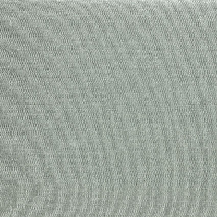 Tissu Emma 100 % Coton Uni Gris Clair © Eyrelles Tissus