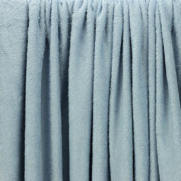 "Tissu éponge bambou Oeko Tex ""Bambou - Ciel"" © Eyrelles tissus"