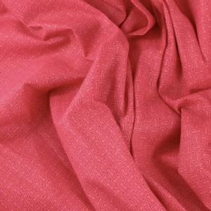Tissus Popeline de coton tissus Zakara Rose © Eyrelles Tissus